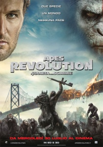 APES REVOLUTION poster