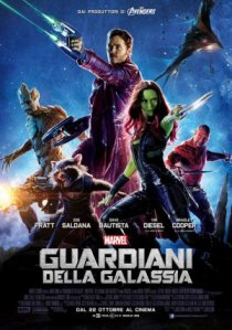 guardiani galassia manifesto